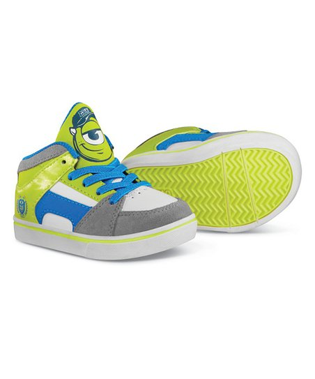 Green & White Disney Monsters University RVM Hi-Top Sneaker