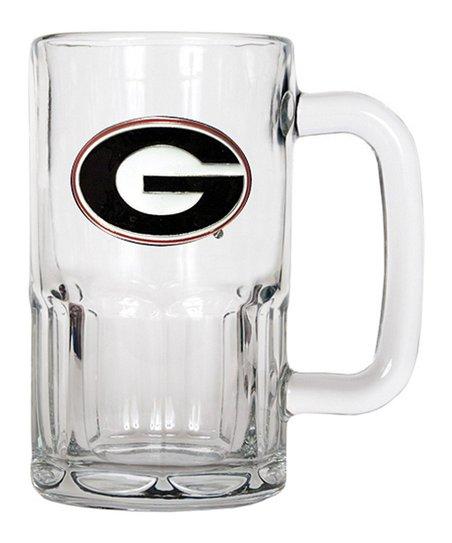 Georgia Bulldogs 20-Oz. Glass Mug