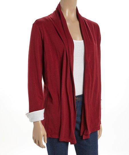 Crimson & White Beth Cardigan Wrap
