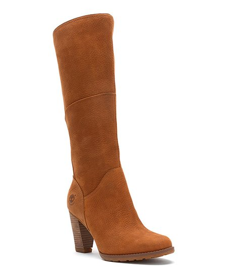 Brown Stratham Heights Tall Leather Boot - Women