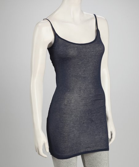 Navy Sleeveless Tunic