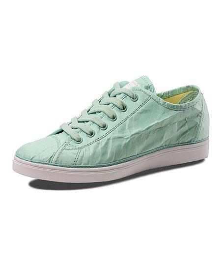 Green Wrinkle Next Day Low Sneaker
