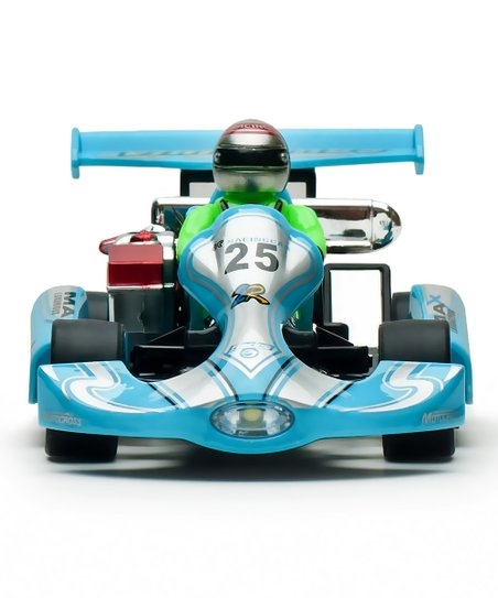Blue Mini Remote Control Go-Kart