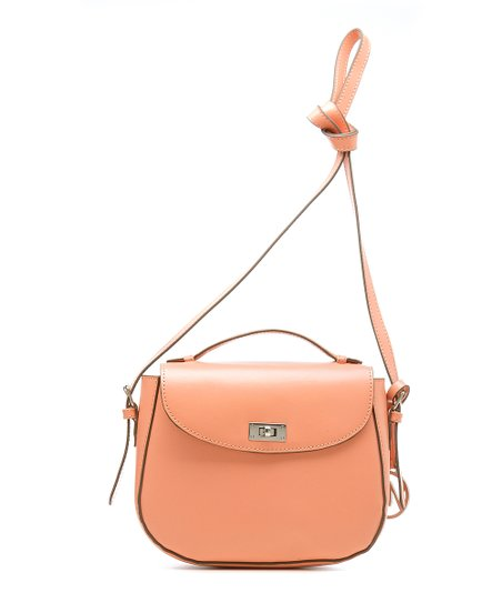 Coral Shannon Crossbody Bag