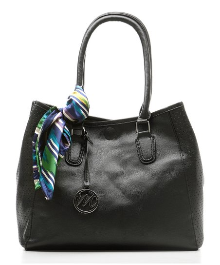 Black Janelle Tote