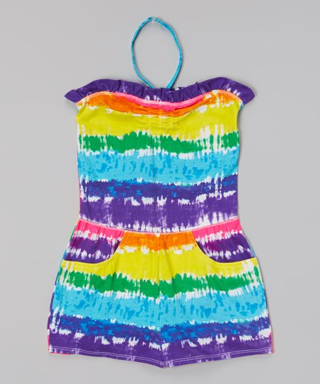 Rainbow Stripe Cover-Up - Girls