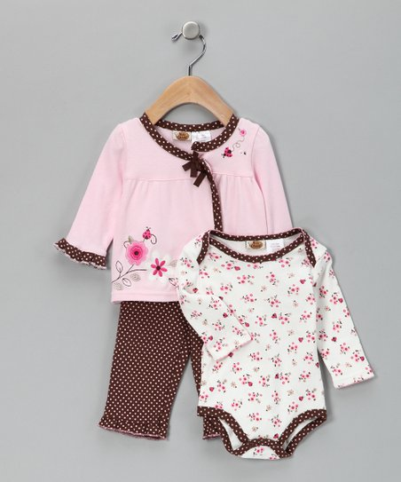 Chestnut Flower Pants Set