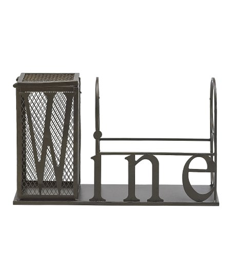 Metal Cork Cage & Wine Caddy