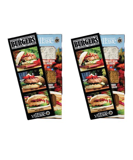 Burger Trio Seasoning – Set of Two