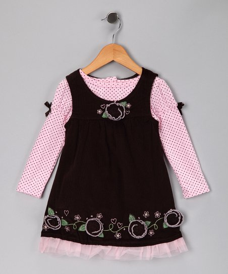 Pink Floral Tee & Swing Dress - Infant