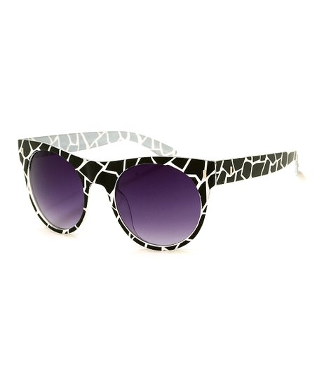 Black & White Dubois Sunglasses