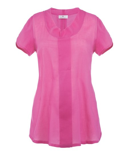Candy Pink Ciara Maternity Top