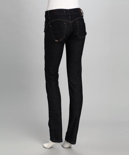 Salsa Black Wonder Slim Bootcut Jeans