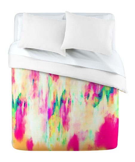 DENY Designs Electric Haze Duvet Cover