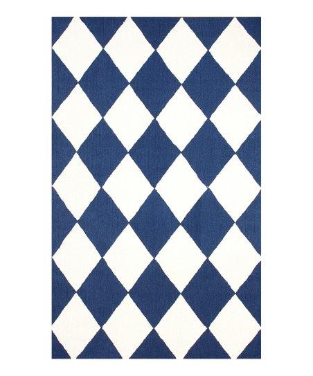 Blue Daniel Wool Rug