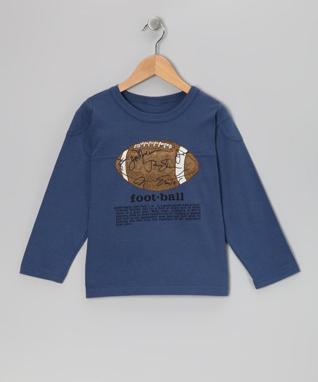 French Blue 'Football' Definition Tee - Boys