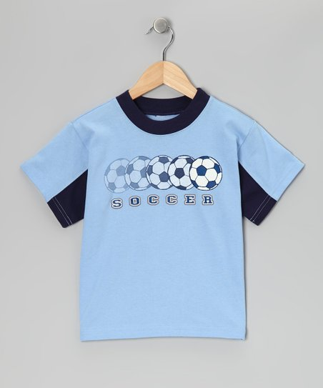 Baby Blue 'Soccer' Tee - Infant & Boys