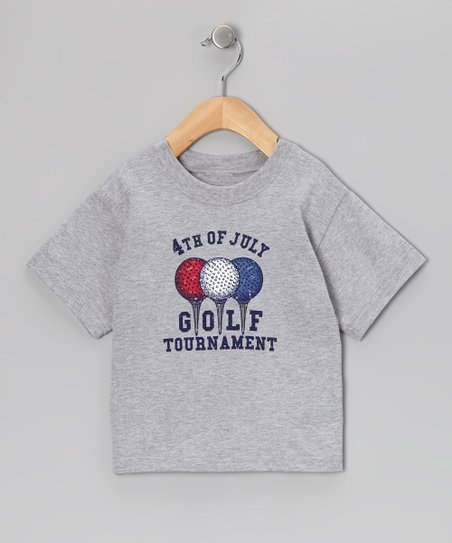 Gray 'Golf Tournament' Tee - Infant & Boys