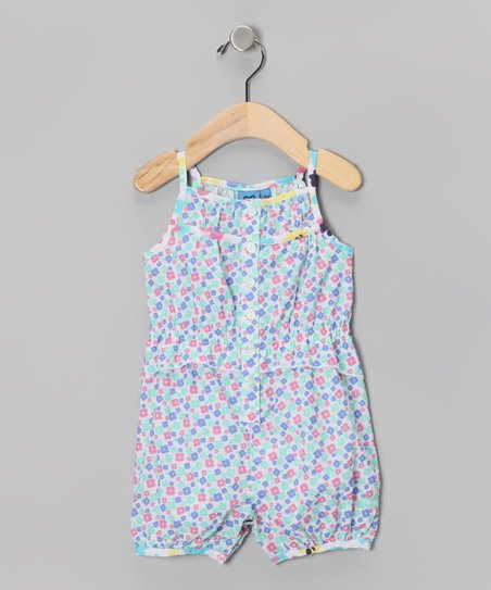 Cabbage Floral Romper - Infant