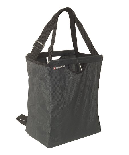 Black Reusable Grocer Packback