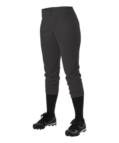 Black Softball Pants – Girls & Women