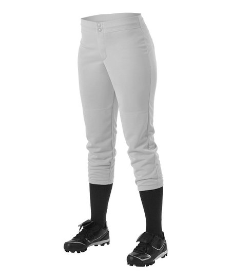 Gray Softball Pants – Girls & Women