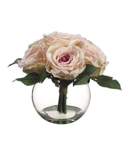 Eden Rose Glass Arrangement