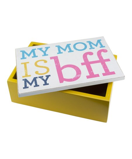 'My Mom is My BFF' Wood Box