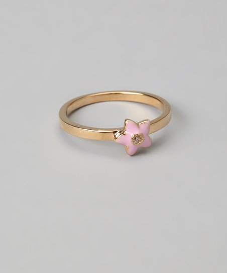 Pink Flower Ring