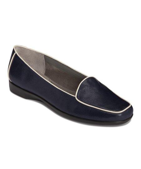 Dark Blue Survival Leather Loafer