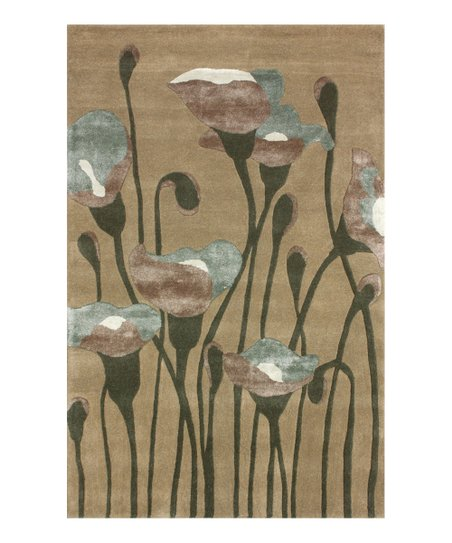 Anemone Wool-Blend Rug