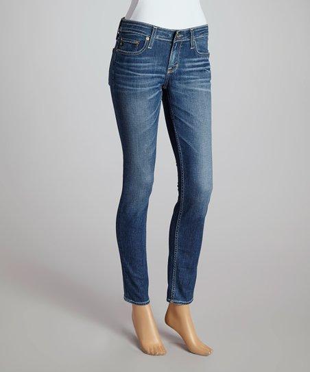 Eighteen-Year Solar Remy Low-Rise Skinny Jeans - Women