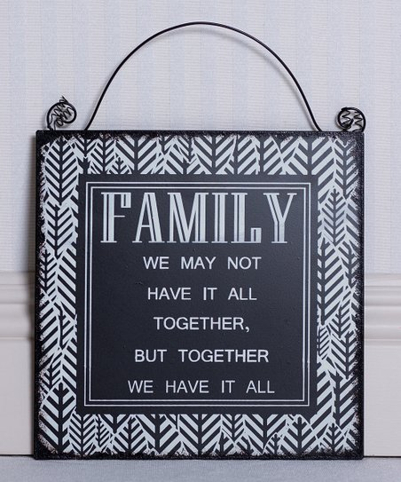 'Family' Sign