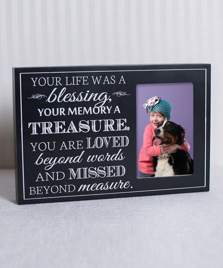 'Your Life Was a Blessing' Frame