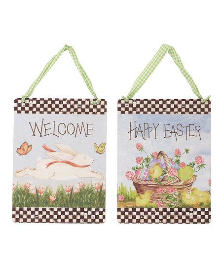 Easter Hanging Banner Set