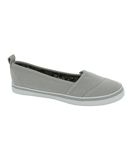 Gray Jennifer Slip-On Shoe