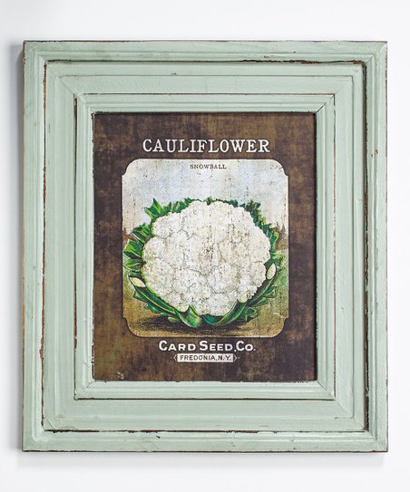 'Cauliflower' Framed Print