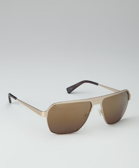 Gold Ventura Sunglasses