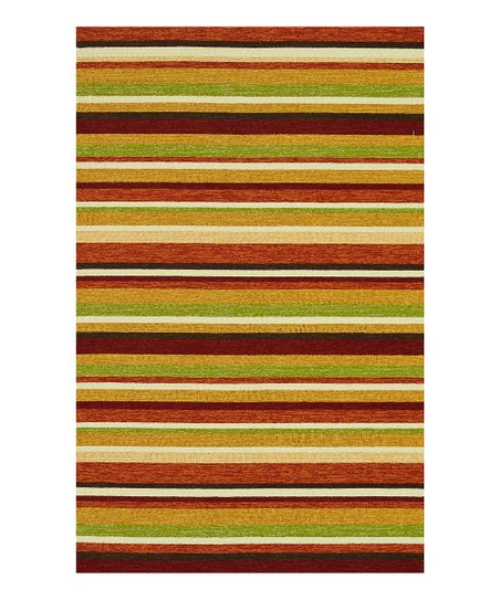Sunset Stripe Venice Beach Indoor/Outdoor Rug