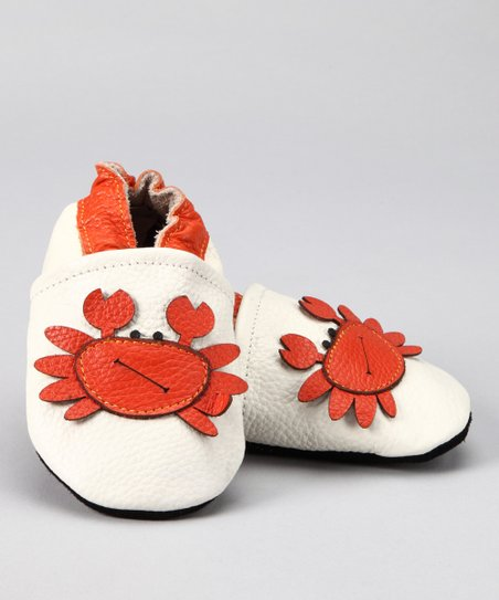 Ivory Mr. Crab Booties
