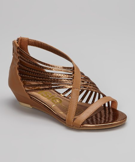 Tan Fancy Gladiator Sandal