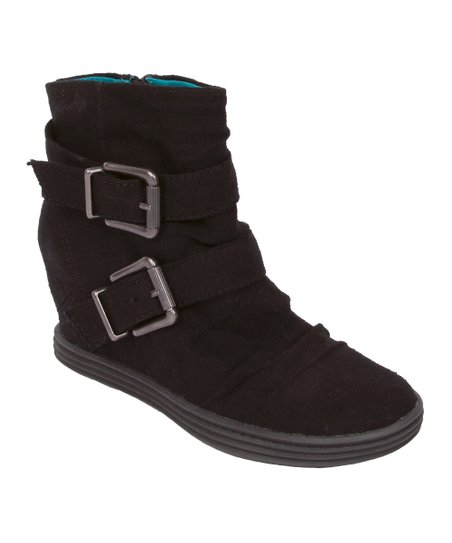 Black Tugo Wedge Boot