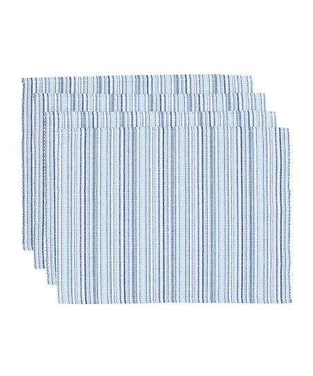 Stripe Place Mat - Set of Four