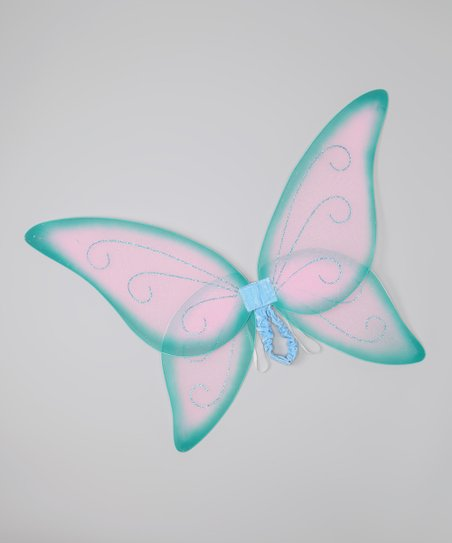 Pink & Teal Fairy Wings