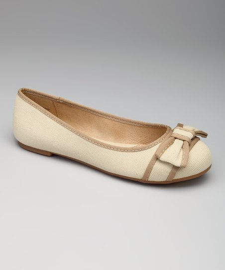 Natural & Beige Lee Lee Flat