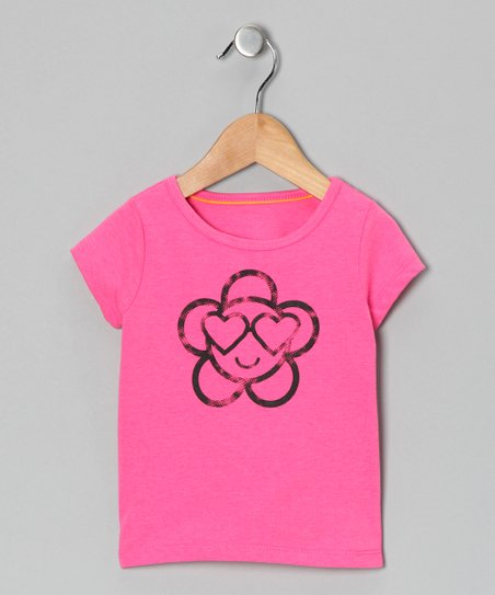 Pink Love Flower Tee - Infant