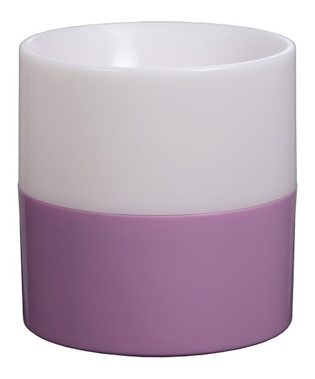 Purple SoundGlow Flameless Candle & Bluetooth Speaker