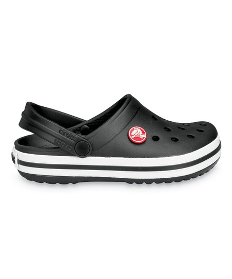 Black Crocband™ Clog
