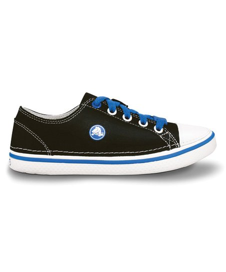 Black &amp; Sea Blue Hover Sneaker - Kids