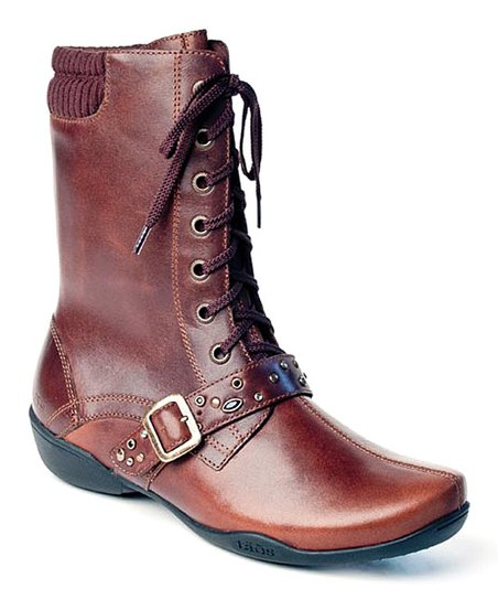 Brown Distressed Cadette Boot